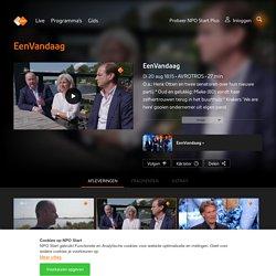 27 min O.a.: Henk Otten en twee senatoren over hun nieuwe partij *