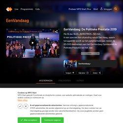 In een speciale live-uitzending vanuit Den Haag, waarin teruggeblikt wordt op het parlementaire jaar, kiezen de 65.000 deelnemers aan het EenVandaag Opiniepanel de Politieke Prest