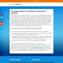 Hoe kan ik een Apple laptop-initiaal herstellen?