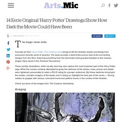 14 Eerie Original 'Harry Potter' Drawings Show How Dark the Movie Could Have Been