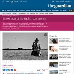 Robert Fanshawe, The eeriness of the English countryside