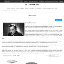 Eero Saarinen - Designers - The Conran Shop