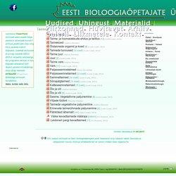 Eesti Bioloogiaõpetajate Ühing