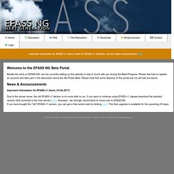 EFASS NG Forum