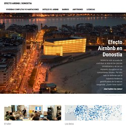 Efecto Airnbnb en Donostia