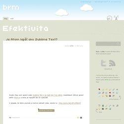 Efektivita « brm - webdev a awesome