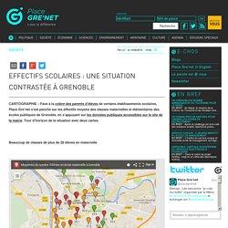 Effectifs scolaires: unesituation contrastée à Grenoble