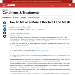 Making Effective Face Masks and Avoiding Common Mistakes
