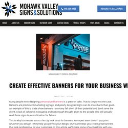Create Effective Banners to Grow Your Business