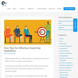 Five Most Effective Tips for Coaching Questions