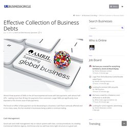 Effective Collection of Business Debts