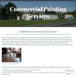 Cost Effective Commercial epoxy floor Detroit