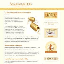 14 Very Effective Communication Skills