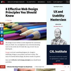 Visual Principles of Web Design