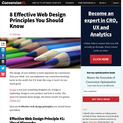 8 Universal Web Design Principles You Should Know