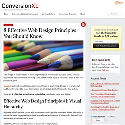 8 Effective Web Design Principles You Should Know