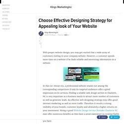 Website Design Service Provider Charlotte NC
