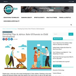 Role of Parents in Child Development