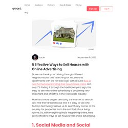 5 Effective Ways to Sell Houses with Online Advertising