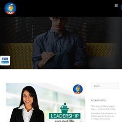 Presentation Training Courses