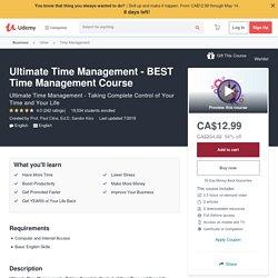 Effective Time Management Skills - Time Management Skills