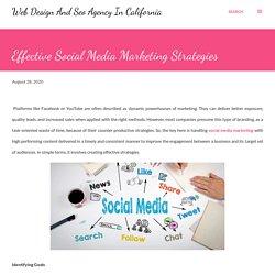 Effective Social Media Marketing Strategies