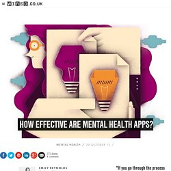 How effective are mental health apps?