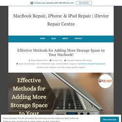Effective Methods for Adding More Storage Space to Your Macbook!