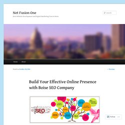 Build Your Effective Online Presence with Boise SEO Company