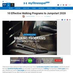 10 Effective Walking Programs to Jumpstart 2020
