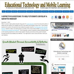 Educational Technology and Mobile Learning: 9 Effective Questions to Help Stu...
