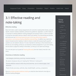 essay on effective reading and writing skills How to write better essays: effective punctuation is vital in conveying your arguments i think my writing skills will improve after reading this article.