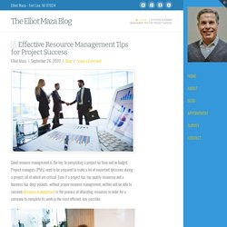 Effective Resource Management Tips for Project Success
