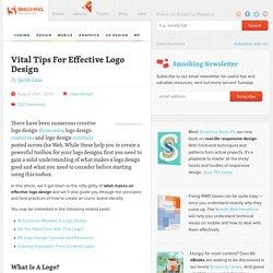 Vital Tips For Effective Logo Design
