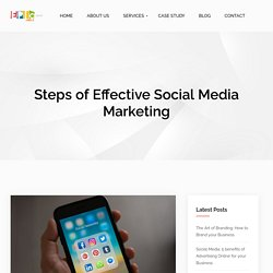 5 Basic Steps of Effective Social Media Marketing: Epic India Group