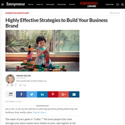 Highly Effective Strategies to Build Your Business Brand