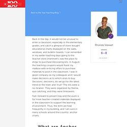 Anchor Charts as an Effective Teacher/Student Tool