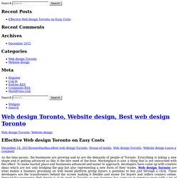 Web design Toronto, Website design, Best web design Toronto