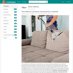 Fast & Effective Upholstery Cleaning Service in Adelaide