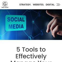 5 Tools to Effectively Website design in Waterloo