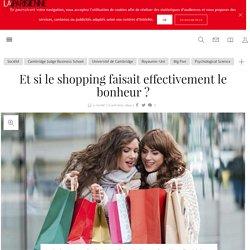 Et si le shopping faisait effectivement le bonheur ? - La Parisienne