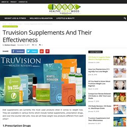 How the Tru Weight Loss Products Work