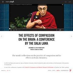 Los efectos de la compasión en el cerebro: una conferencia del Dalai Lama