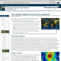 The Health Effects of Hurricane Katrina