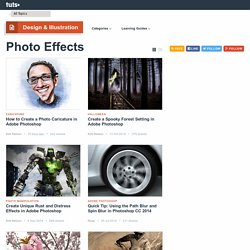 Photo Effects - Tuts+ Design & Illustration Category