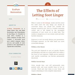 The Effects of Letting Soot Linger