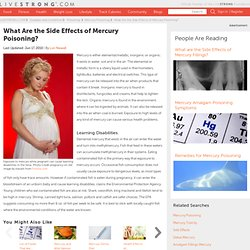 Mercury Poisoning Dangers