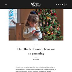 The effects of smartphone use on parenting