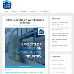 Effects of GST on Warehousing Industry