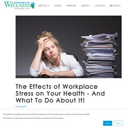 Causes of Stress in workplace
